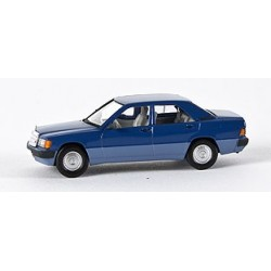 MB 190 E (W 201) berline bleu