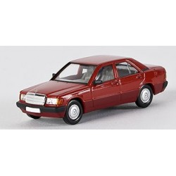 MB 190 E (W 201) berline rouge