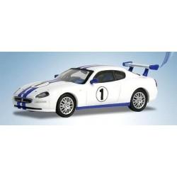 Maserati Trofeo blanche à bandes bleues (2002)