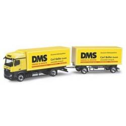 MB Actros Bigspace '11 camion + rqe fourgon DMS Carl Balke