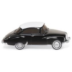 DKW coupé F94 noire à toit blanc