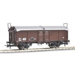 wagon à 2 essieux à toit coulissant SNCF