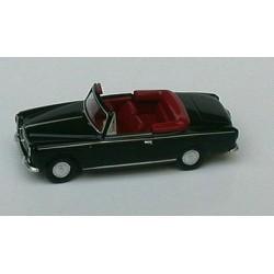 Peugeot 403 cabriolet ouvert 1957 noire