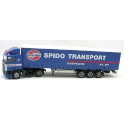 Daf 95 + semi-rqe tautliner Spido Trnsport (NL)