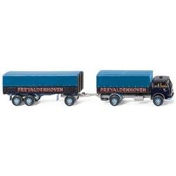 MAN 10.210 camion + rqe bâchée Freyaldenhoven (NL)