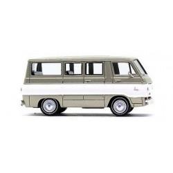 "Dodge A-100 minibus ""or à bande blanche"""