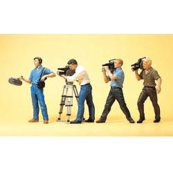 Equipe de cinéma : cameras & prise de son