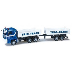 "MAN TGS L camion + rqe benne ""Trio-Trans"""