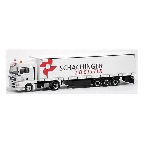 MAN TGX XLX + semi-rqe tautliner Schachinger Logistik