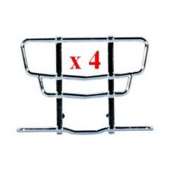 Set de 4 Pare-Buffles chromés pour MB Actros '11