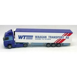 "Volvo FH GL + semi-rqe frigorifique ""Waagan Transport AS"""