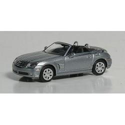Chrysler Crossfire roadster ouvert gris métallisé