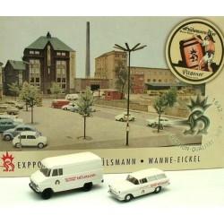 Set Hülsmann: Opel Blitz fourgon - Opel Rekord Caravan