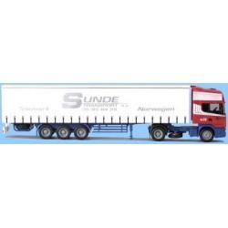 Scania 4er TL + semi-rqe tautliner Sunde Transport (N)