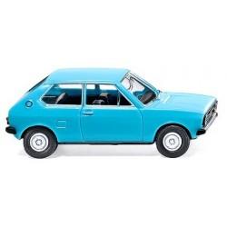 Audi 50 3 portes (1974) bleu