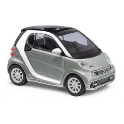 Smart Fortwo coupé 2012 gris métallisé