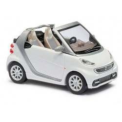 Smart Fortwo cabriolet 2012 blanc