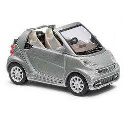 Smart Fortwo cabriolet 2012 gris métallisé