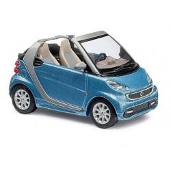 Smart Fortwo cabriolet 2012 bleu ciel métallisé