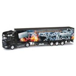Scania R TL 09 + semi-rqe taut. SKS Wheelsforwinner.com