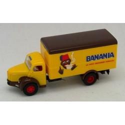 Berliet GLR 8 camion fourgon Banania