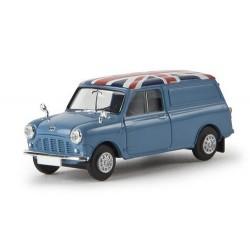 "Austin Mini Countryman van bleu ciel ""Union Jack"""