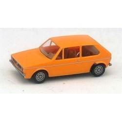 VW Golf I 3 Portes 1974 jaune orangé