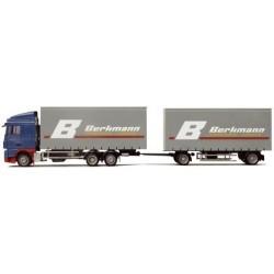 Daf 95 XF SC camion + rqe Megaliner Berkmann
