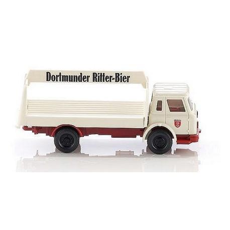 International H camion plateau brasseur Dortmunder Ritter Bier