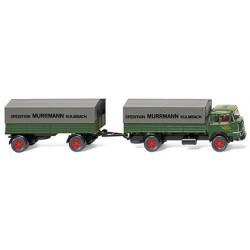 Krupp 806 camion + rqe bâchée Spedition Murrmann