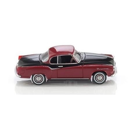 Borgward Isabella coupé 1957 bordeaux et noir