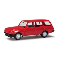 Wartburg 353 1985 Tourist rouge clair