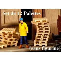 Set de 12 palettes