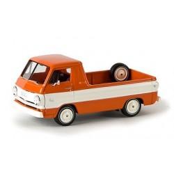 Dodge A-100 pick-up orange & blanc