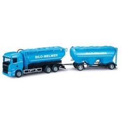 Scania R HL 09 camion + rqe silo Melmer (A)