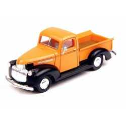 Chevy '41/46 pick-up orange et noir