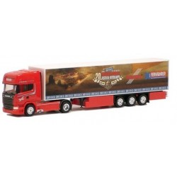 "Scania R TL '13 + semi-rqe fourgon ""Fernfahrer Truck Festival"""