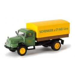 Steyr 480 camion bâché Schenker & Cie AG Linz