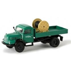 """Steyr 480 camion plateau & rouleau de câble """"Schwarzbau"""""""