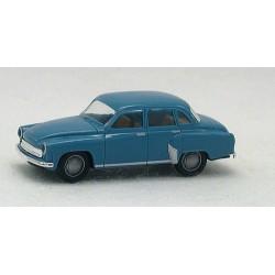 Wartburg 311 berline 4 Portes bleu clair
