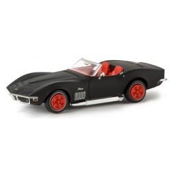 Chevrolet Corvette C3 cabriolet noir mat