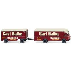 "MB camion + rqe fourgon Ackermann ""Carl Balke"""