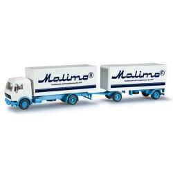 MB S camion + rqe fourgon Malimo