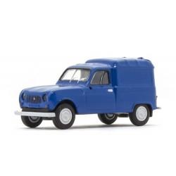 Renault F4 fourgonnette 1961 bleu trafic