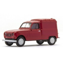 Renault F4 fourgonnette 1961 rouge carmin