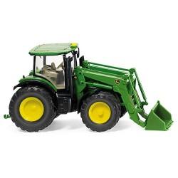 Tracteur agricole John Deere 7280R chargeur