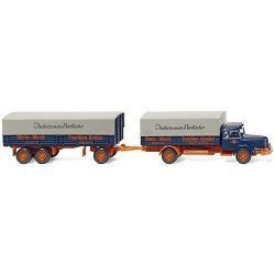"Krupp Titan camion + rqe bâchée ""R.W.F.K."""