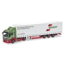 MAN TGS XL + semi-rqe Megaliner Wandt