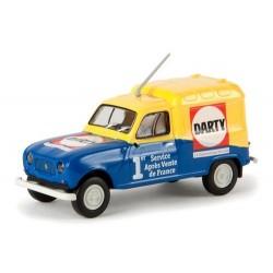 """Renault F4 fourgonnette 1961 """"Darty SAV"""""""