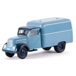 Robur Garant camion fourgon rouge bleu ciel (nouveau modèle)